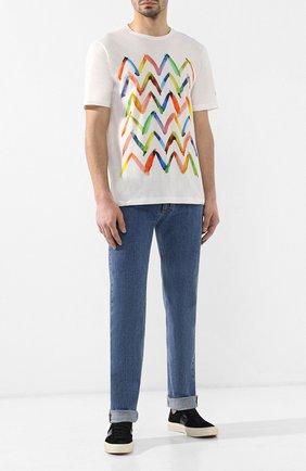 Хлопковая футболка Missoni белая | Фото №2