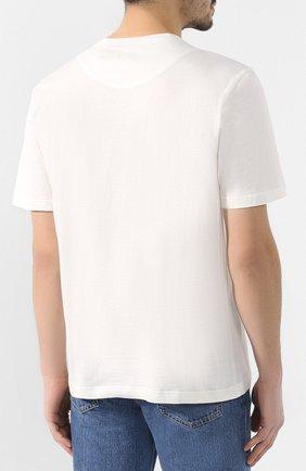 Хлопковая футболка Missoni белая | Фото №4