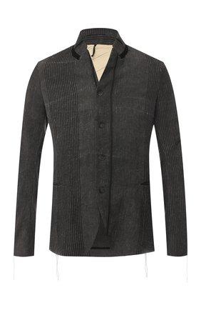 Пиджак из смеси льна и хлопка   Фото №1