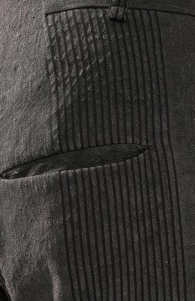 Брюки из смеси льна и хлопка | Фото №5