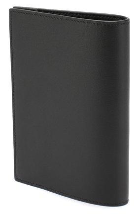 Мужская кожаная обложка для паспорта GIVENCHY черного цвета, арт. BK602BK0AC | Фото 2