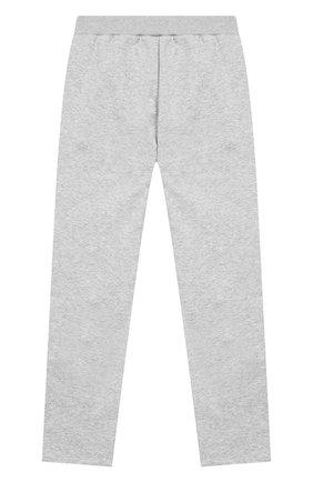 Детские хлопковые брюки GIVENCHY серого цвета, арт. H14045/6A-12A | Фото 2