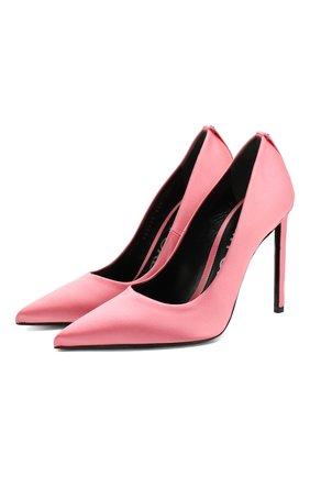 Туфли из сатина | Фото №1