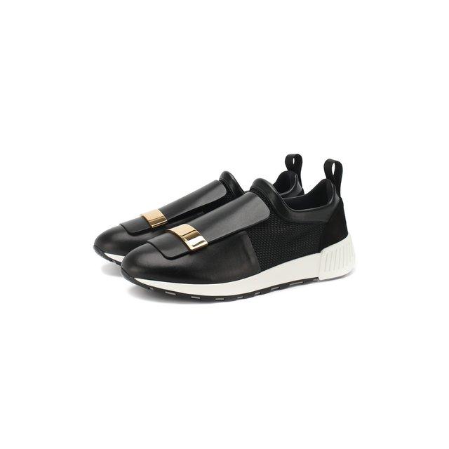 Комбинированные кроссовки Sergio Rossi — Комбинированные кроссовки