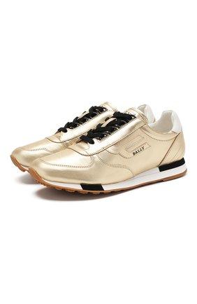 Кожаные кроссовки Gavinia | Фото №1