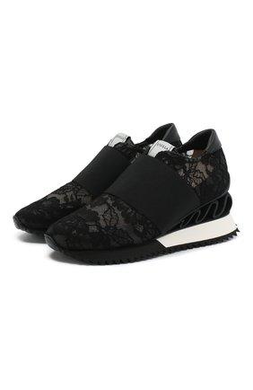 Текстильные кроссовки Rubel | Фото №1