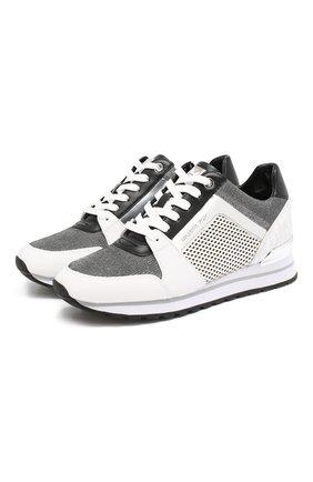 Комбинированные кроссовки Billie | Фото №1