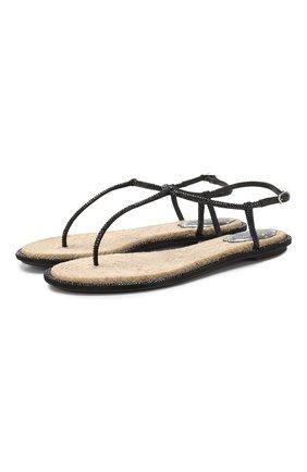 Кожаные сандалии Diana | Фото №1
