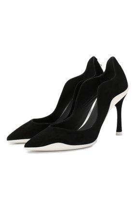 Замшевые туфли Tessa | Фото №1