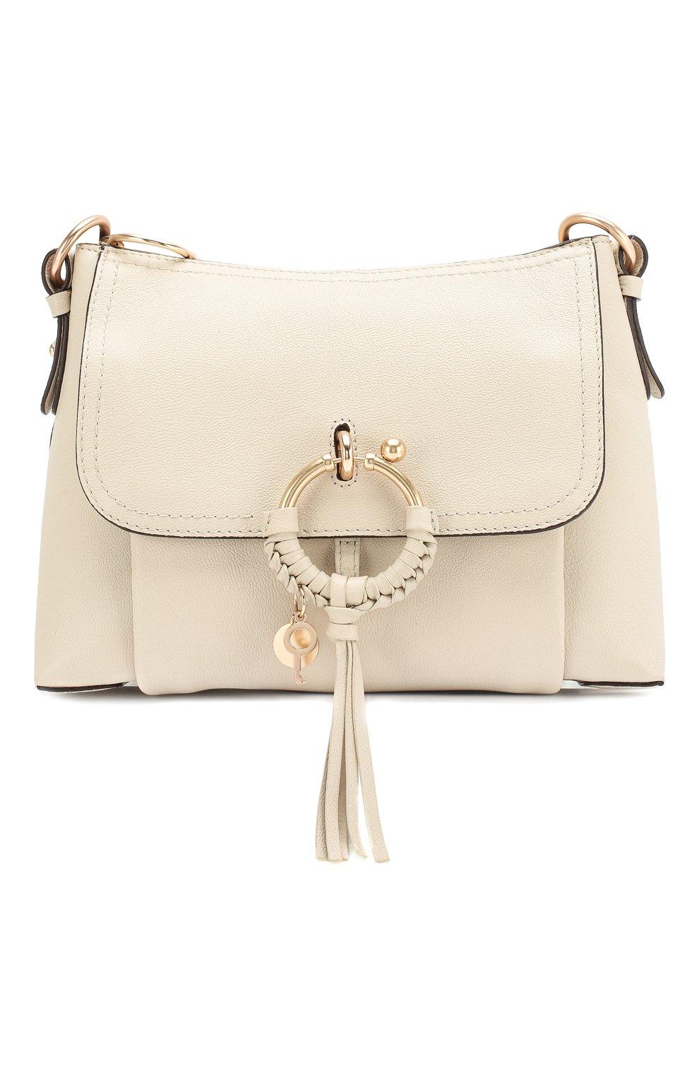 Женская сумка joan small SEE BY CHLOÉ бежевого цвета, арт. CHS18SS910388 | Фото 1