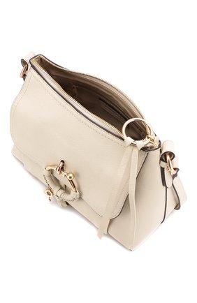 Женская сумка joan small SEE BY CHLOÉ бежевого цвета, арт. CHS18SS910388 | Фото 4