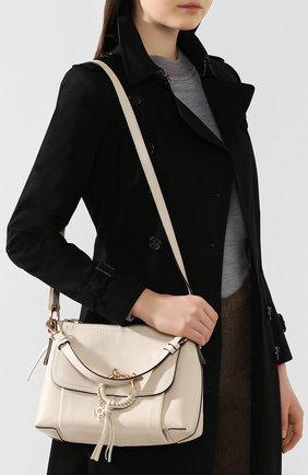 Женская сумка joan small SEE BY CHLOÉ бежевого цвета, арт. CHS18SS910388 | Фото 5