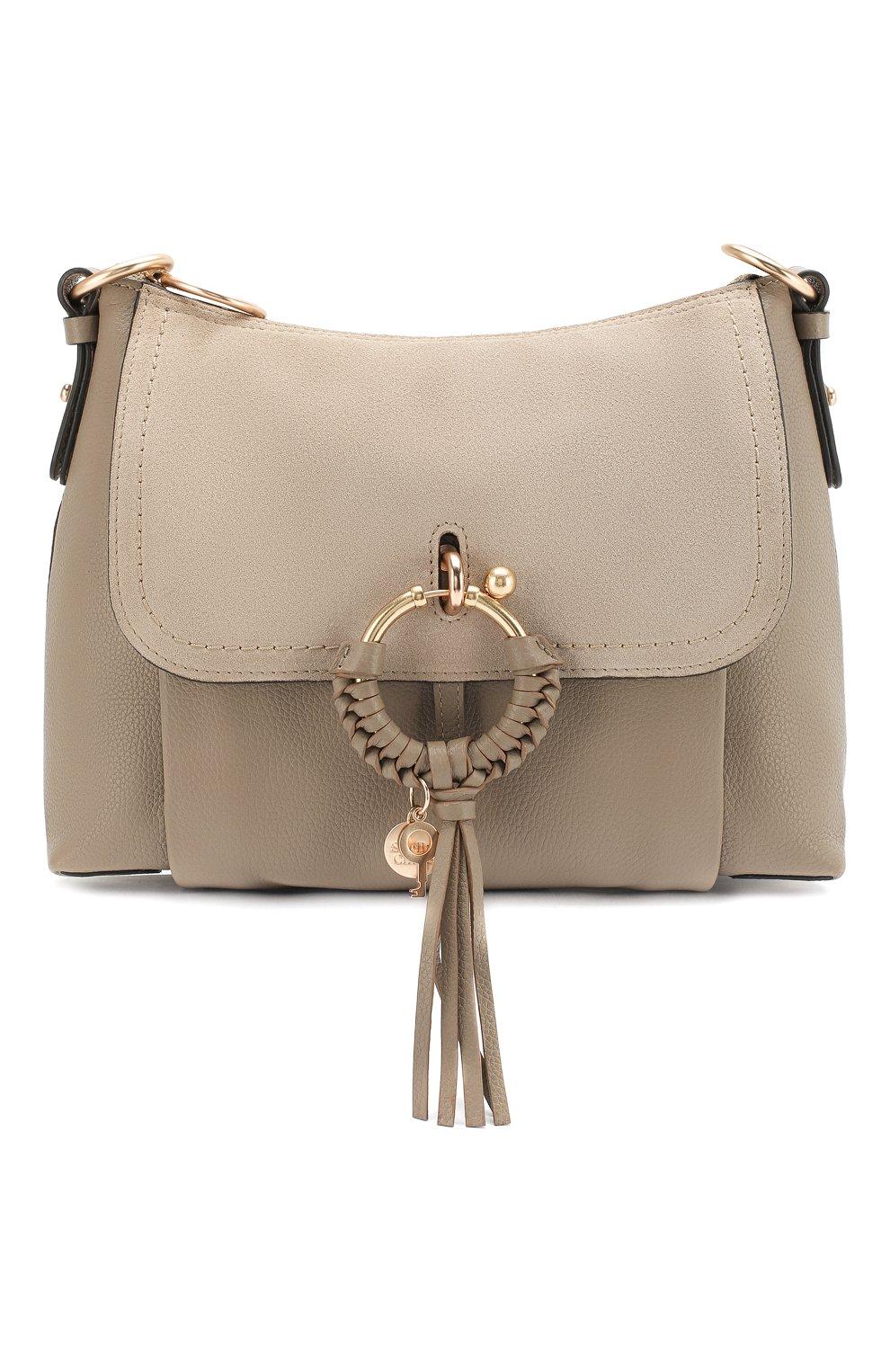 Женская сумка joan small SEE BY CHLOÉ серого цвета, арт. CHS17US910330   Фото 1