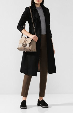 Женская сумка joan small SEE BY CHLOÉ серого цвета, арт. CHS17US910330   Фото 2