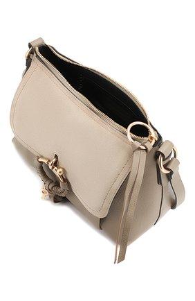 Женская сумка joan small SEE BY CHLOÉ серого цвета, арт. CHS17US910330   Фото 4