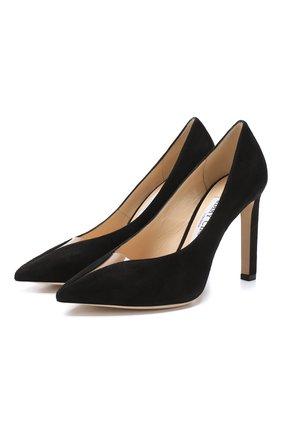Замшевые туфли Baker 100 | Фото №1