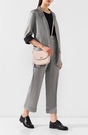 Женская сумка mott MICHAEL MICHAEL KORS светло-розового цвета, арт. 32S8GF5C0L | Фото 2