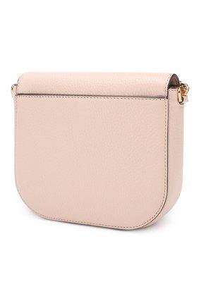 Женская сумка mott MICHAEL MICHAEL KORS светло-розового цвета, арт. 32S8GF5C0L | Фото 3