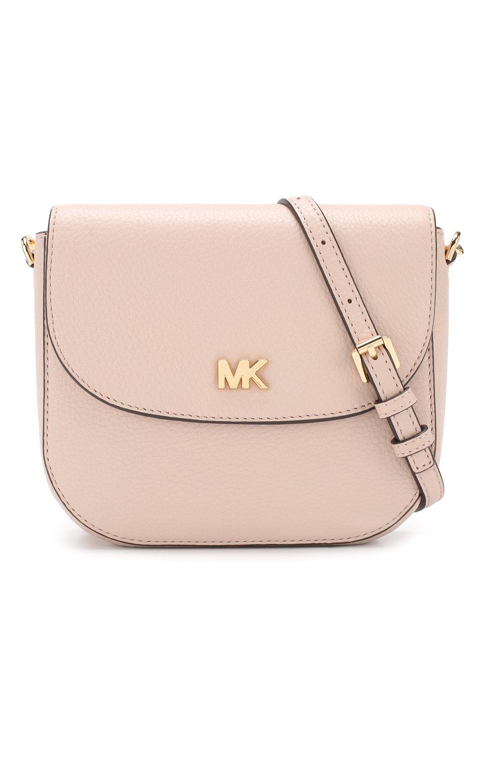 Женская сумка mott MICHAEL MICHAEL KORS светло-розового цвета, арт. 32S8GF5C0L | Фото 5