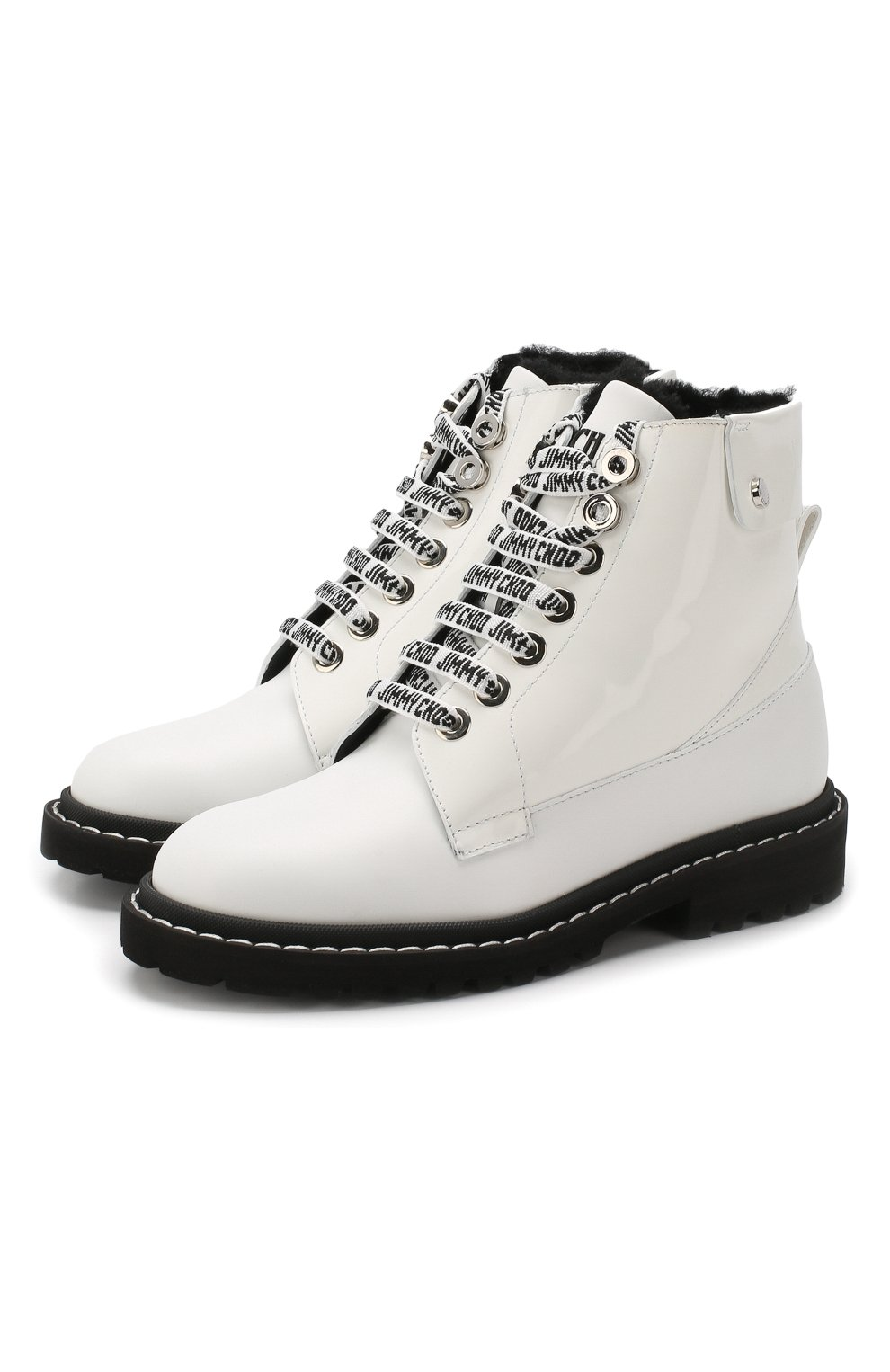 Кожаные ботинки Snow  | Фото №1
