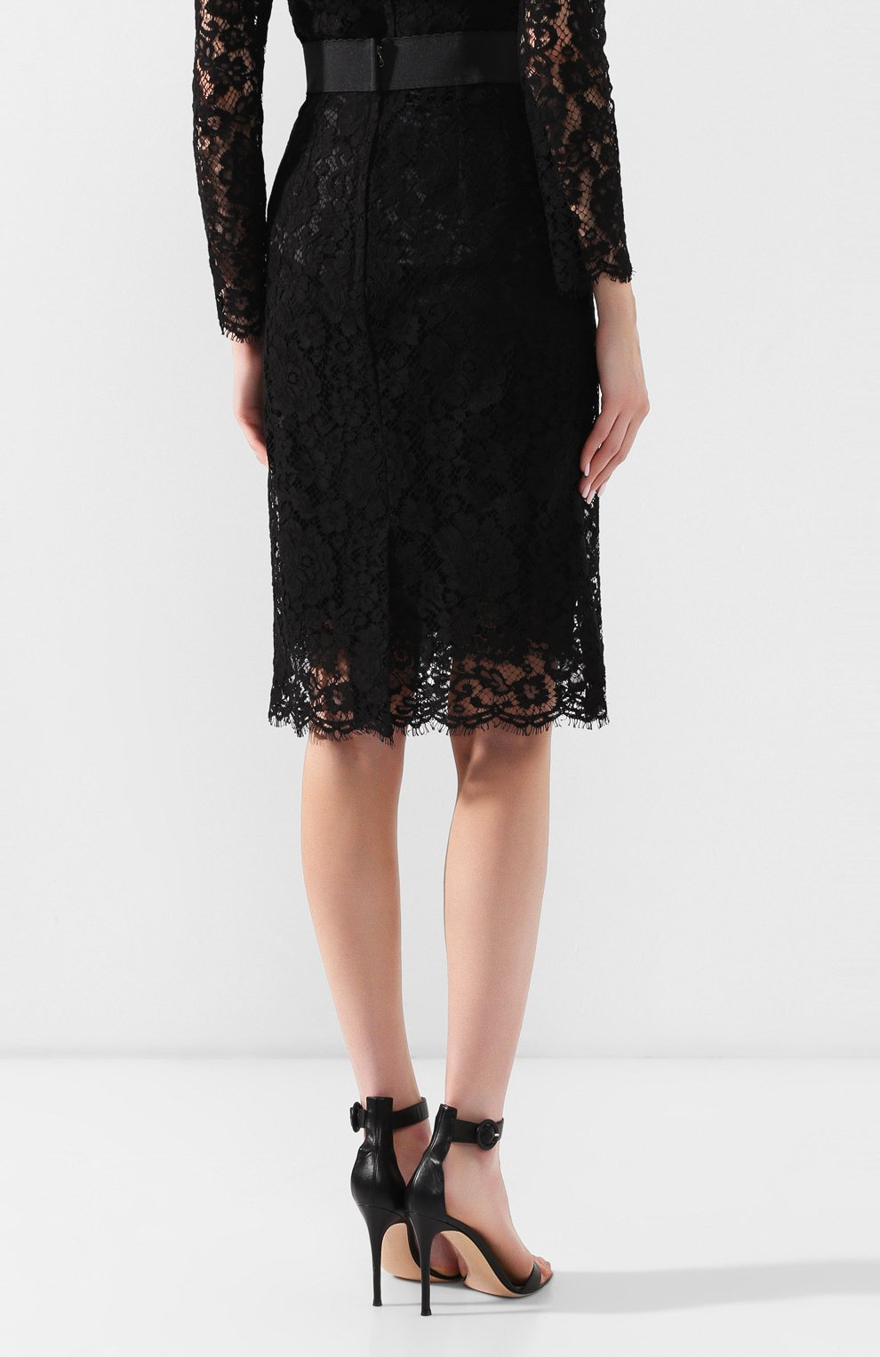 Кружевная юбка | Фото №4