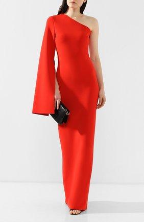 Женское платье на одно плечо SOLACE красного цвета, арт. 0S21056   Фото 2