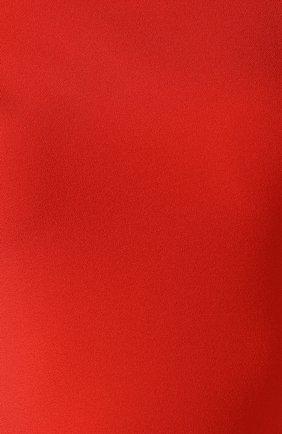 Женское платье на одно плечо SOLACE красного цвета, арт. 0S21056   Фото 5