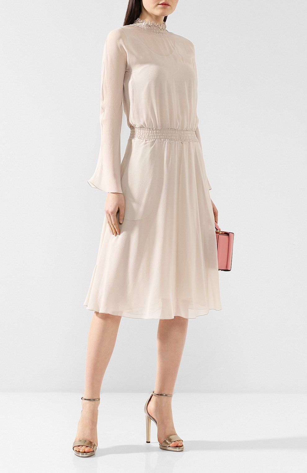 Шелковое платье   Фото №2
