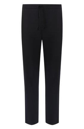 Мужские хлопковые домашние брюки BOSS черного цвета, арт. 50397051   Фото 1