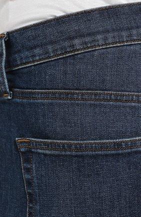 Джинсы прямого кроя J Brand синие | Фото №5