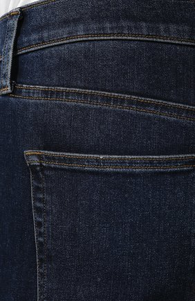 Джинсы прямого кроя J Brand темно-синие | Фото №5