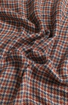 Мужской шарф из смеси кашемира и шелка LORO PIANA красного цвета, арт. FAI5041 | Фото 2