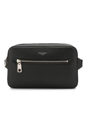 Кожаная поясная сумка Gotico | Фото №1
