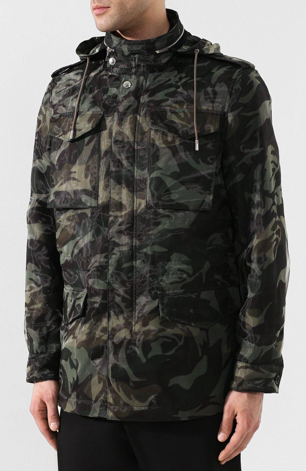 Куртка с капюшоном | Фото №3