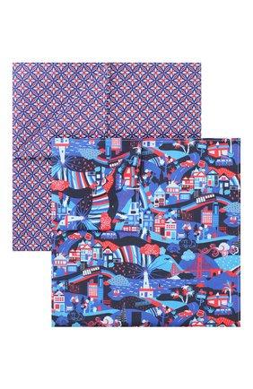 Комплект из двух хлопковых платков | Фото №1