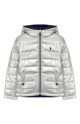 Двусторонняя куртка с капюшоном   Фото №1