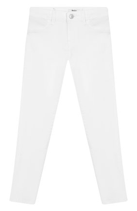 Детские джинсы POLO RALPH LAUREN белого цвета, арт. 313692486 | Фото 1