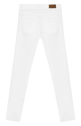 Детские джинсы POLO RALPH LAUREN белого цвета, арт. 313692486 | Фото 2