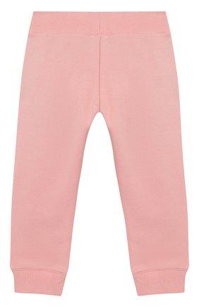 Детские хлопковые джоггеры KENZO розового цвета, арт. KN23017/6M-18M | Фото 2