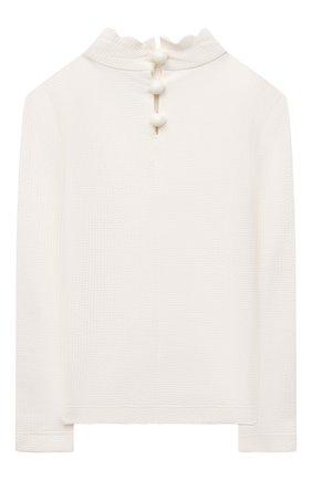 Детского пляжный лонгслив MARYSIA BUMBY белого цвета, арт. BT031   Фото 2