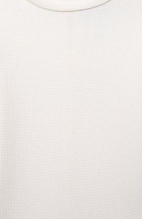 Детского пляжный лонгслив MARYSIA BUMBY белого цвета, арт. BT031   Фото 3 (Кросс-КТ: Пляж; Рукава: Длинные; Принт: Без принта; Материал внешний: Синтетический материал; Статус проверки: Проверено; Ростовка одежда: 10 - 11 лет   140 - 146см, 12 лет   152 см, 4 года   104 см, 6 лет   116 см)