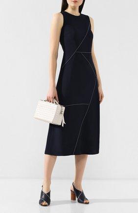 Женская сумка gommino mini TOD'S белого цвета, арт. XBWD0NH9100RLX   Фото 2