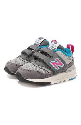 Детские кроссовки 997h NEW BALANCE серого цвета, арт. IZ997HAH/M | Фото 1