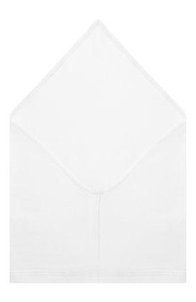 Детская хлопковая бандана IL TRENINO белого цвета, арт. 19 8511/E0 | Фото 2