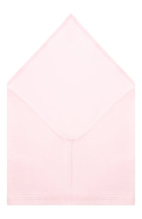 Детская хлопковая бандана IL TRENINO розового цвета, арт. 19 8511/E0 | Фото 2