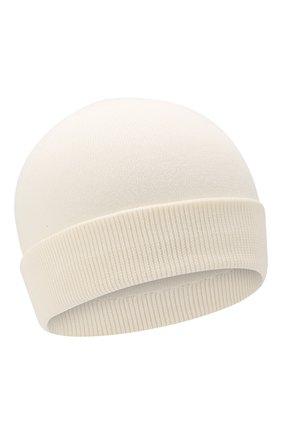 Детского хлопковая шапка MONCLER ENFANT белого цвета, арт. E1-951-99222-00-V9005 | Фото 1
