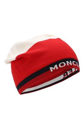 Детского хлопковая шапка MONCLER ENFANT разноцветного цвета, арт. E1-954-99221-00-V9006 | Фото 1