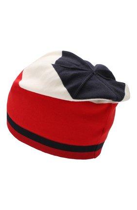 Детского хлопковая шапка MONCLER ENFANT разноцветного цвета, арт. E1-954-99221-00-V9006 | Фото 2