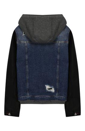 Хлопковая куртка с капюшоном | Фото №2