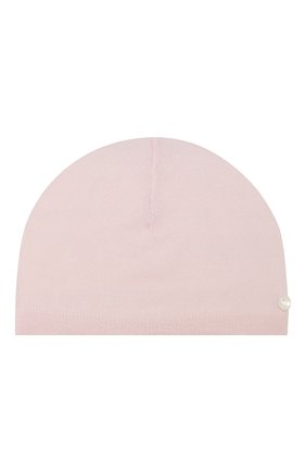 Детского кашемировая шапка TARTINE ET CHOCOLAT светло-розового цвета, арт. TH90011 | Фото 1